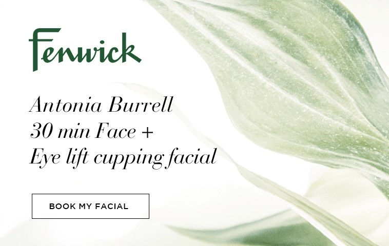 Antonia Burrell Fenwick 30 Min Face and Eye Lift Cupping Facial